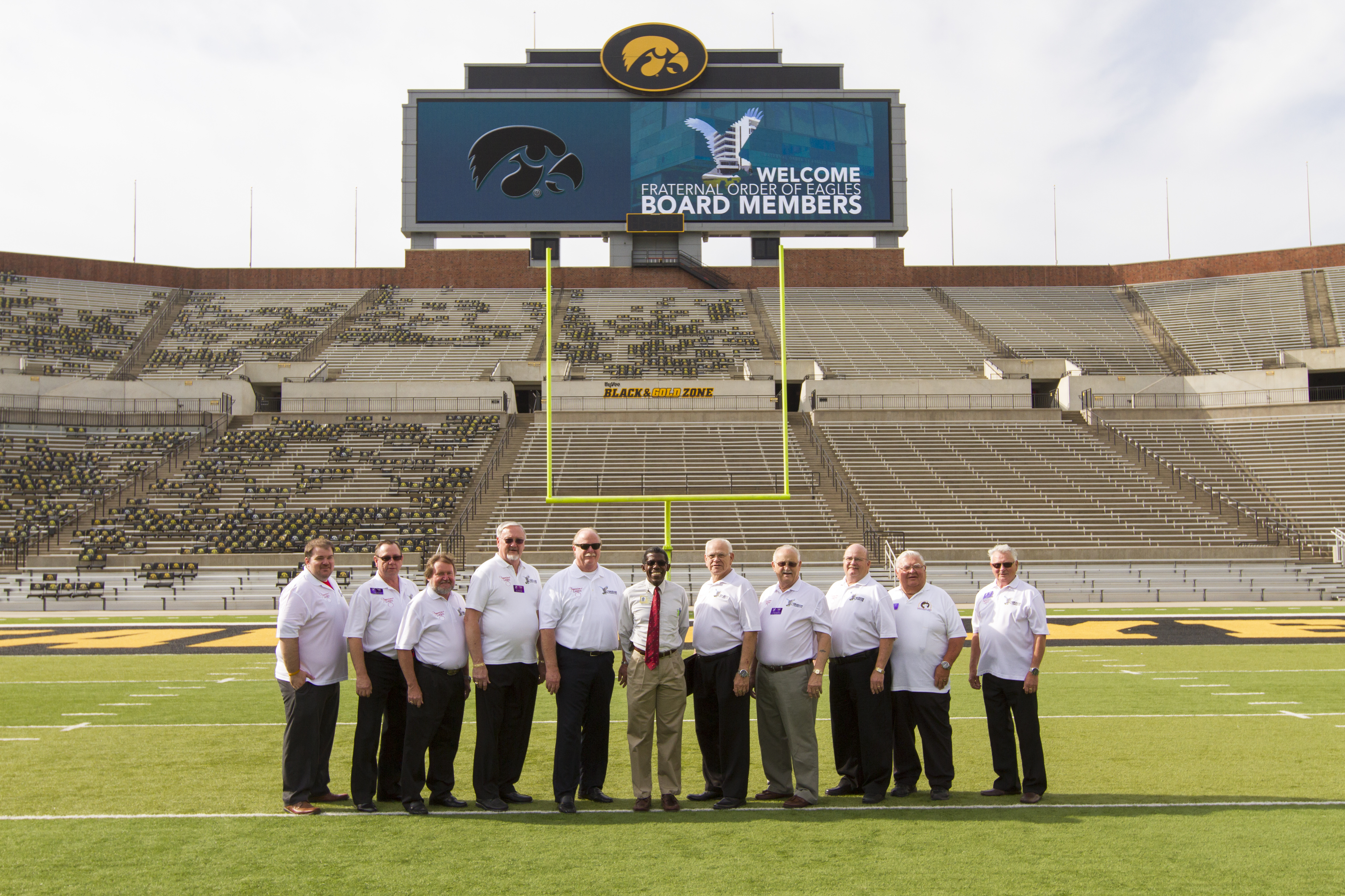 Iowa Leadership welcome the Fraternal Order of Eagles Board of Trustees