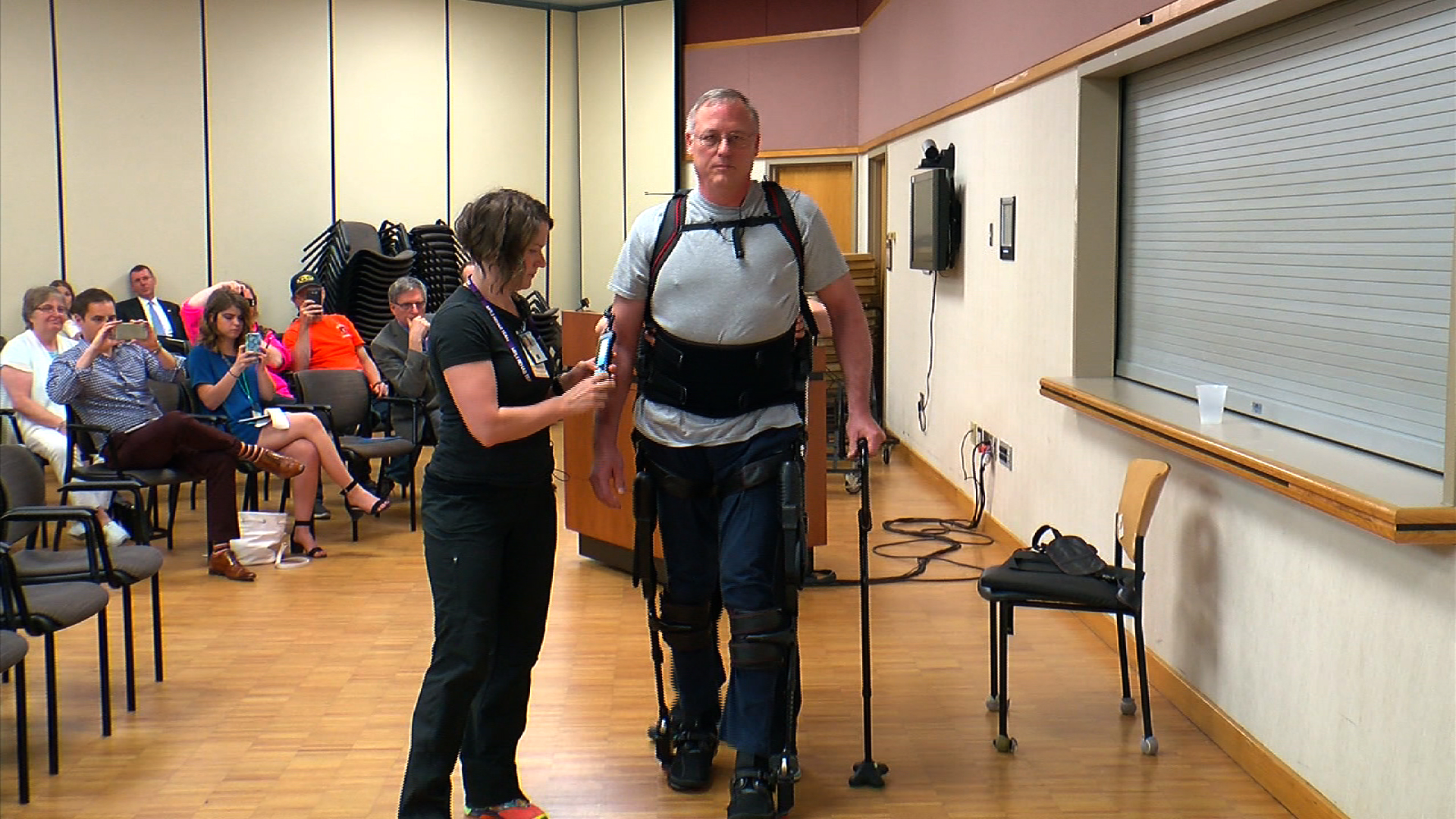 Fraternal Order of Eagles & Soldier Strong Partner to Donate Ekso Bionics Suit to Minneapolis Veterans Affairs Hospital